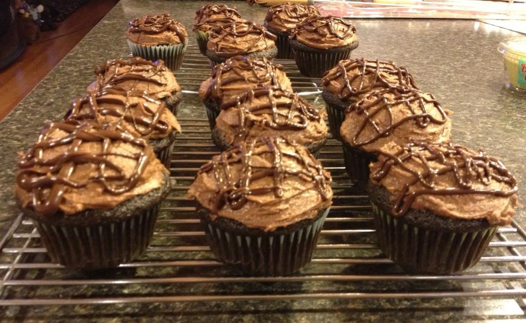 mocha cupcakes 6
