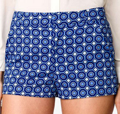 Spring Essential: Patterned Shorts – sarah kate style