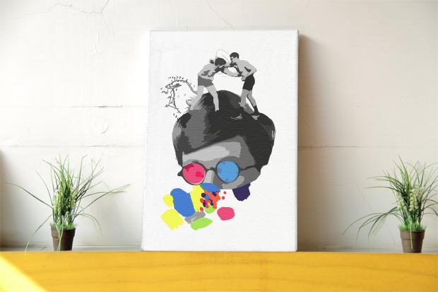 JuicyCanvas Customizable Art Indie1
