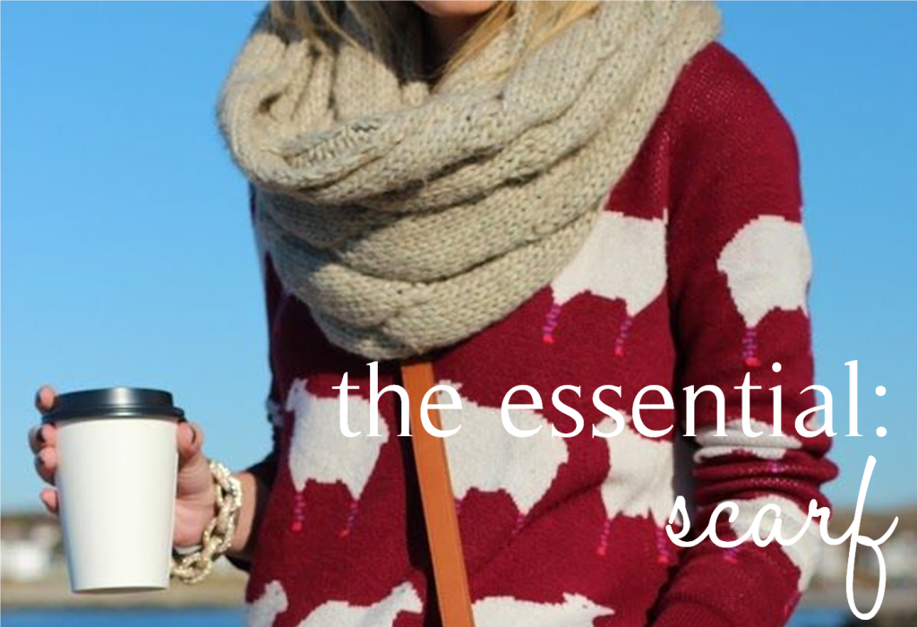the essential scarf 1