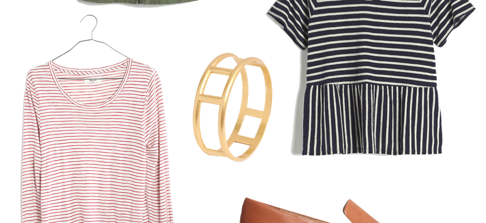madewell favorites slider